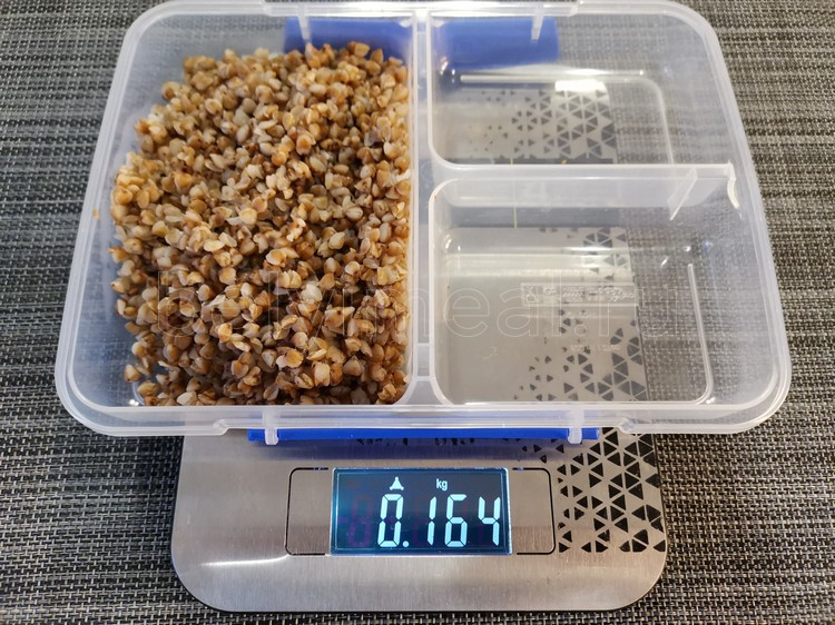 сколько весит вареная гречка